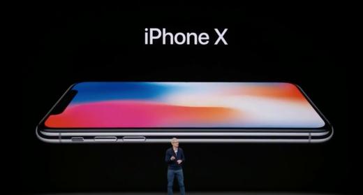 【速報】「iPhoneX」発表!!スーパーレティナディスプレイ!999ドル!11月3日発売