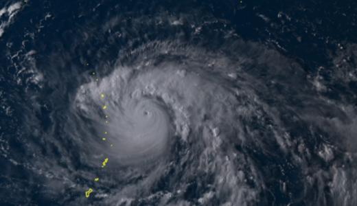 915hpaのカテゴリ4「猛烈な台風」が日本に接近!危機迫る