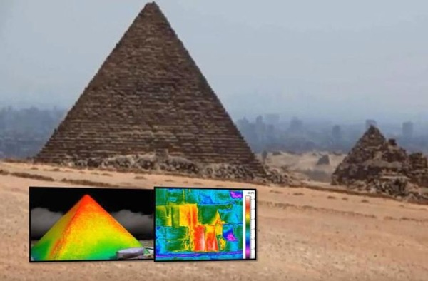 giza pyramid, ancient, mystery object